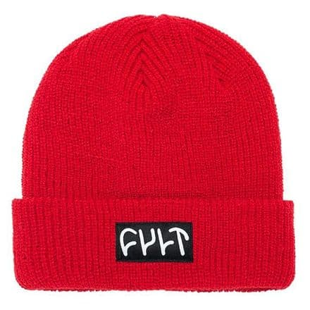 Cult Witness Beanie - Red